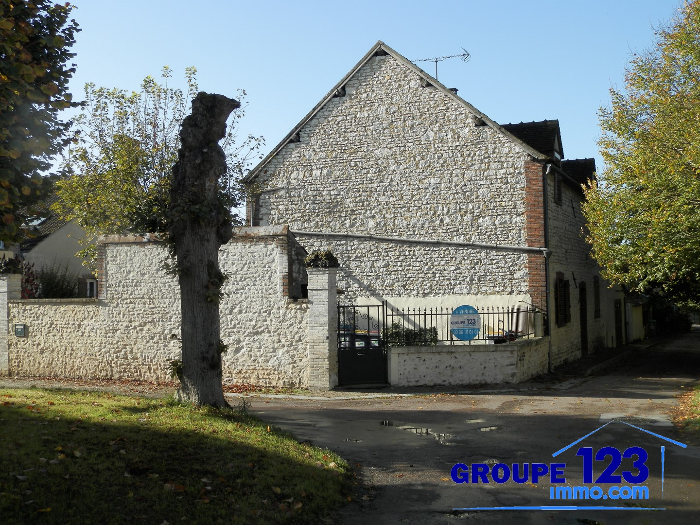 Groupe 123 immo com agence immobili re appoigny 89380 for Immo immobilier